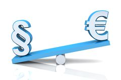 Currency exchange rate Royalty Free Stock Image