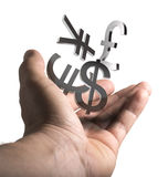 Currency Exchange Service Stock Photography