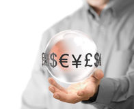 Currency Exchange Service Stock Image