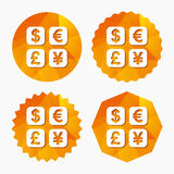 Currency exchange sign icon. Currency converter. Stock Image