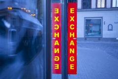 Currency exchange. Royalty Free Stock Photos