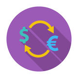 Currency exchange. Stock Images