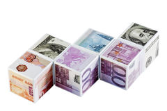 Currency game Royalty Free Stock Image