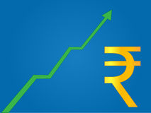 Currency Growth Indian Rupee Royalty Free Stock Image