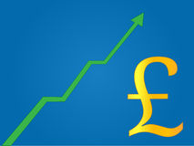 Currency Growth Pound Stock Photo
