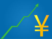 Currency Growth Yen Stock Image