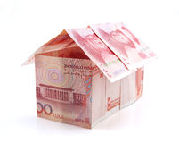 Currency house Stock Images