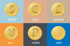 Currency stock illustration