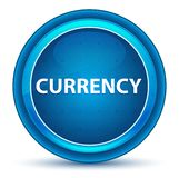 Currency Eyeball Blue Round Button royalty free illustration