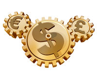 Currency Market Royalty Free Stock Photos