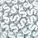 Currency Money Background Dollar Signs Finance Stock Photography