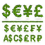 Currency money sign Stock Images
