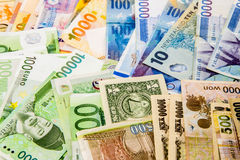 Currency paper Royalty Free Stock Photo