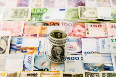 Currency paper Stock Image