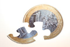 Currency Puzzle Royalty Free Stock Image