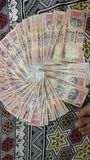Currency 1000 rupee ban rs 1000  rupeee Royalty Free Stock Images