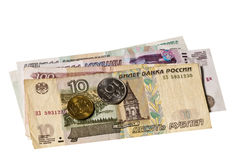 Currency of Russia Rubel Stock Image