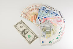 The currency royalty free stock images