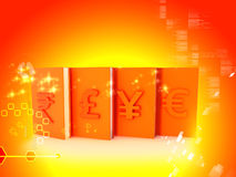 Currency sign Stock Images