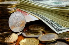 Currency speculation. Stock Photo