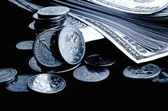 Currency speculation. Stock Image