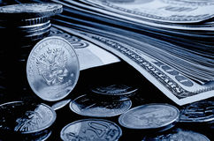 Currency speculation. Royalty Free Stock Photos