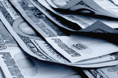 Currency speculation the ruble dollar. Stock Image