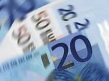 Currency spin Stock Photo
