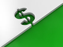 Currency symbol concept image Stock Photo