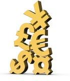 Currency Symbols vector illustration