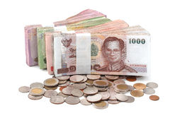 Currency THB Royalty Free Stock Photos