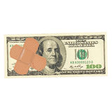 Currency Trouble. Dollar bill with a band-aid Stock Images