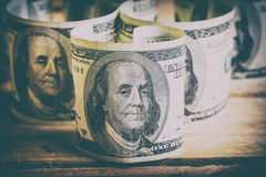Currency US dollars Stock Photos