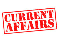 CURRENT AFFAIRS Stock Image