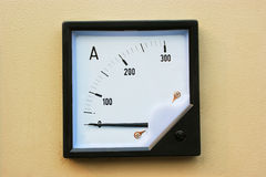 Current dial. Electronic equipment on the current dial Royalty Free Stock Photography