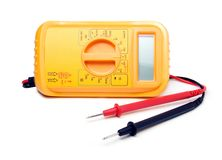 Current multimeter. Generic current voltage multi meter instrument Royalty Free Stock Photography