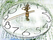 Current time. Abstract scene slow current time Royalty Free Stock Photos