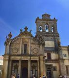 Evora, Portugal, CHURCH OF NOSSA SENHORA DA GRACA. stock photo