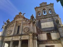 Evora, Portugal, CHURCH OF NOSSA SENHORA DA GRACA. royalty free stock images