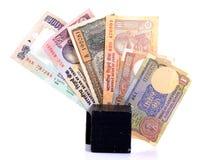 Curreny indiano fotografia stock libera da diritti
