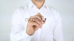 Curriculum vitae, écriture d'homme sur le verre clips vidéos