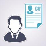 Curriculum Vitae concept Stock Image