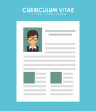 Curriculum vitae Royalty Free Stock Image