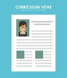 Curriculum vitae Royalty Free Stock Image