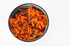 Curried carrot raisin salad Royalty Free Stock Photography