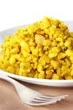 Curried cauliflower Stock Photo