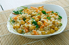 Curried Couscous Salad Stock Photography