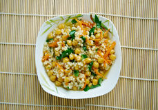 Curried Couscous Salad Royalty Free Stock Photo