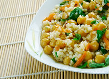 Curried Couscous Salad Stock Image