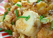 Curried Hash Brown Scramble Stock Image